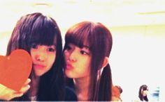 乃木坂46 (nogizaka46) matsumura sayuri dorky kiss to ito marika =)