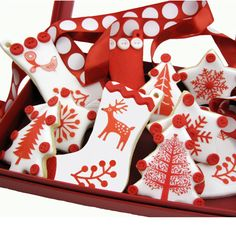 Christmas Wafer Paper - Scandinavian Christmas Wafer Paper