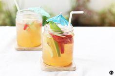 Summer Lillet Sangria, Summer Cocktail.