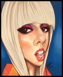 caricatures of lady gaga - Google Search