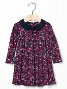 Floral collar dress