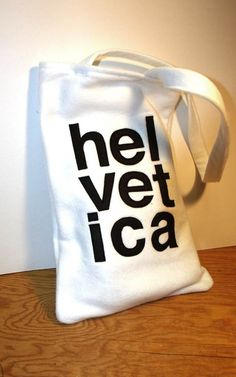 I come from I family of graphic designers. I want this bag.