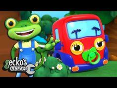 Baby Truck Visits NEW Gecko's Garage Trucks For Children   Cartoons For Kids   Baby Truck Videos - YouTube Cartoon Kids, Painters, Baby Kids, Lunch Box, Cartoons, Garage, Trucks, Children, Videos
