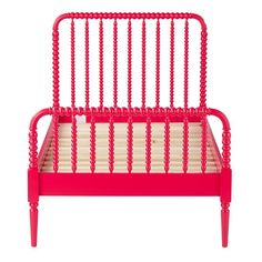 The Land of Nod | Twin Raspberry Bed in Beds $549