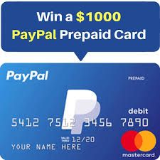Get A Paypal Gift Card Giveaway Paypal Gift Card Paypal Cash Prepaid Gift Cards