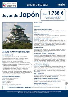JAPON: Joyas de Japon desde 1738€ + tasas ultimo minuto - http://zocotours.com/japon-joyas-de-japon-desde-1738e-tasas-ultimo-minuto/