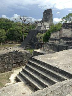 Mayan Ruins Of Tikal in Petén