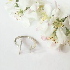Minimalist, Stud Earrings, Unique, Jewelry, Jewlery, Jewerly, Stud Earring, Schmuck, Jewels