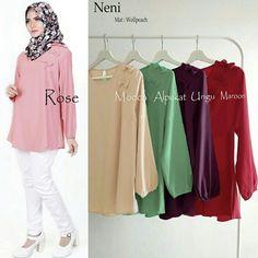 Busana Wanita Neni Blouse Online - https://www.butikjingga.com/busana-wanita-neni-blouse