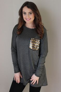 Just bought this top! So cute! Sequins and Diamonds Top – Sisterly Chic Boutique