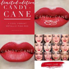 Shop Women's LipSense Red size OS Lipstick at a discounted price at Poshmark. Description: Never opened candy cane lipsense from SeneGence. Sold by Fast delivery, full service customer support. Makeup Collage, Homemade Dry Shampoo, Red Lipsense, Coconut Oil Beauty, Long Lasting Lip Color, Color Collage, Metallic Pink, Colorful Makeup, Red Nails