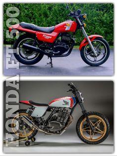 '82 Honda Ascot FT500