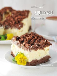 Najsmaczniejszy sernik królewski - My WordPress Website Polish Desserts, Polish Recipes, Cookie Recipes, Dessert Recipes, Healthy Potato Recipes, Bakers Gonna Bake, Christmas Cooking, Food Cakes, Sweet Cakes
