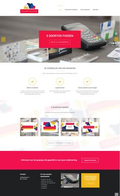 Spaarpassen webdesign