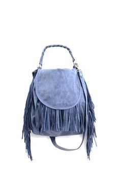 Fringe bag Leather bag by StellaandLori on Etsy, $301.00