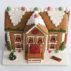 gingerbread house from RedEnvelope.com