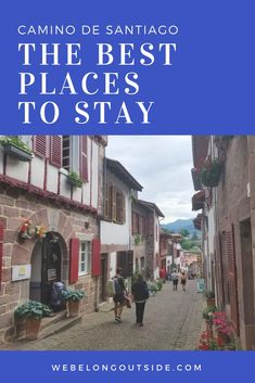The best albergues on the Camino – We Belong Outside. Any catalogue about the Camino Santiago. Camino Walk, Camino Trail, The Camino, Places To Travel, Places To See, Travel Destinations, Travel Stuff, Bora Bora, Camino De Santiago