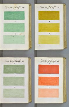 Over 300 Years Ago, An Artist Created And Documented Every Color You Can Think Of