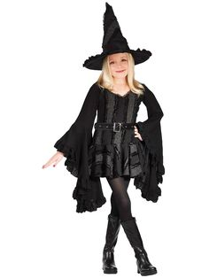 Stitch Witch Child Costume | Wholesale Witch Costumes for Girls
