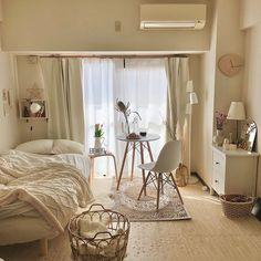 Home Room Design, Minimalist Room, Aesthetic Bedroom, Cozy Room, Apartment Interior, Dream Rooms, New Room, House Rooms, Home Decor Bedroom