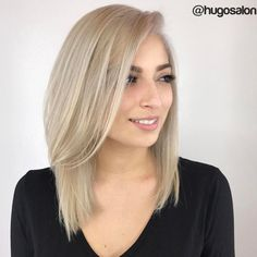 Medium Ash Bronde Hairstyle For Fine Hair