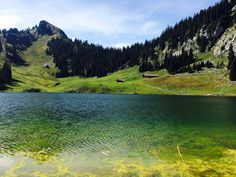 Swiss Stockhornlake. Mountains, Places, Nature, Travel, Voyage, Viajes, Traveling, The Great Outdoors, Trips
