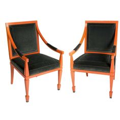 Andre Arbus Armchairs | From a unique collection of antique and modern armchairs at http://www.1stdibs.com/furniture/seating/armchairs/