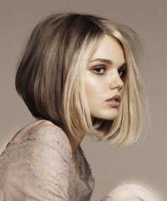 Angelo Seminara Medium Blonde Bob Hairstyles