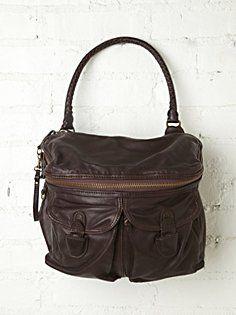 Seagram Leather Tote
