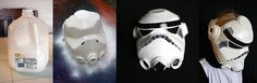 Hazte tu propio casco de soldado imperial de Star Wars o Stormtrooper - Make your own Star wars stormtrooper helmet