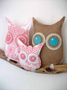 and baby makes three owls