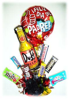#Arreglos con #Chocolates para festejar a #Papa!!! www.globocentro.com.gt