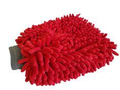 The Turbo Wax Chenille Microfiber Wash Mitt
