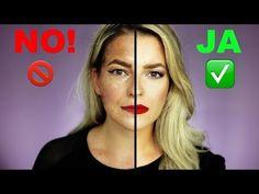BRUTAL ❌Das MACHST DU täglich FALSCH ❌ SCHMINKFEHLER & CAKEY Face vermeiden | Power of Makeup - YouTube