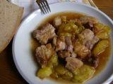 Pečený bůček s blumami recept Bucky, Beef, Food, Meat, Essen, Meals, Yemek, Eten, Steak