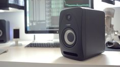 The Tannoy Reveal 402 studio monitor speakers. I'm giving away a pair on my YouTube channel: http://www.youtube.com/watch?v=K0awTNRHfss