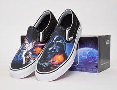 #Vans Slip-On Star Wars A New Hope #sneakers