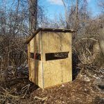 5x5 Deer Blind Plans | HowToSpecialist - How to Build, Step by Step DIY Plans Bow Hunting Deer, Quail Hunting, Deer Camp, Deer Hunting Blinds, Turkey Hunting, Hunting Stuff, Coyote Hunting, Pheasant Hunting, Archery Hunting