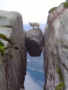 Kjeragbolten, Kjerag Mountain, Norway