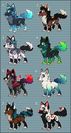 Adoptables - Point Auction - CLOSED by Kawiko.deviantart.com on @deviantART