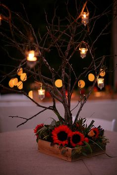 Another DIY table decoration idea