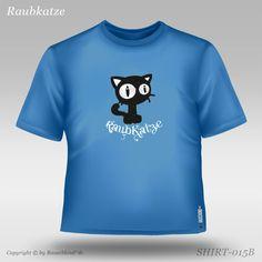 Die schnurrende Raubkatze Kids Fashion, Crop Tops, Mens Tops, T Shirt, Clouds, Kids, Supreme T Shirt, Tee Shirt, Junior Fashion