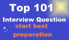 101 top interview questions