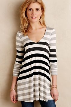 Devin Tunic #anthropologie (also works for maternity)