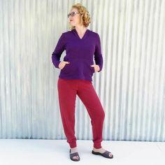 916cc065414 Hemp Fleece Lounge Pants - Custom Made - Sauna Pants - Yana Dee Pajama  Bottoms