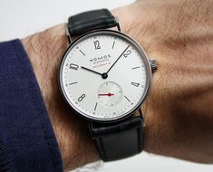Nomos Minimatik and Tangente Automatik With New In-House DUW 3001 Movement Hands-On