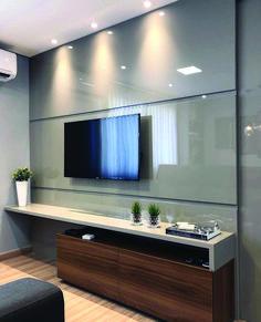 Living room tv wall decor bathroom 23 Ideas for 2019 Tv Unit Decor, Tv Wall Decor, Bathroom Wall Decor, Wall Tv, Bathroom Ideas, Tv Cabinet Design, Tv Wall Design, Living Room Interior, Home Interior Design