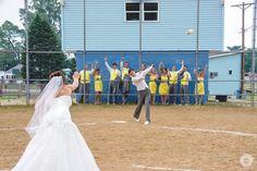 Baseball Wedding Picture