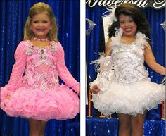 """Pageant pros Eden Wood (left) and Makenzie Myers (right) have been seen multiple times on TLC's """"Toddlers and Tiaras."""""""
