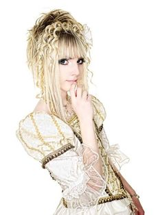 """YOHIO"", a Sweden born male rocker who is now very popular among Visual Rock Japanese fans"